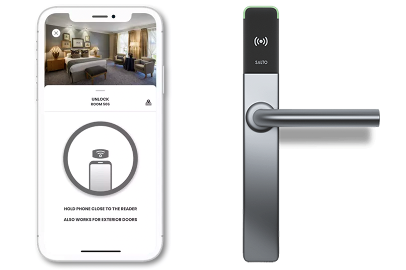 Digital key and Salto smart lock