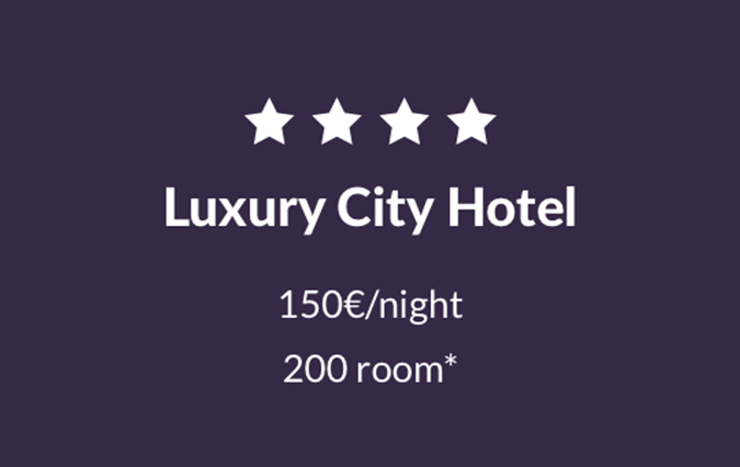 4* Luxury City Hotel